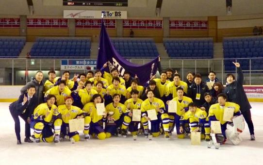 第91回日本学生氷上競技選手権大会決勝 vs東洋