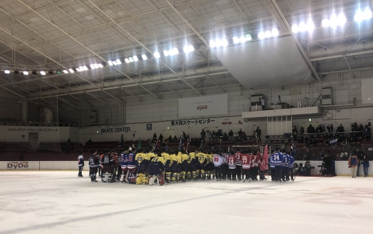 秩父宮杯第67回関東大学アイスホッケー選手権大会決勝リーグ vs 早稲田
