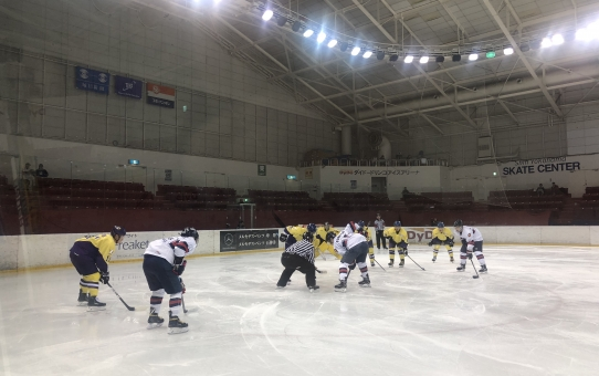 2019年度関東大学アイスホッケーリーグ戦 vs 慶應