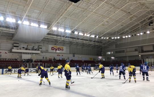 2019年度関東大学アイスホッケーリーグ戦 vs 日体大