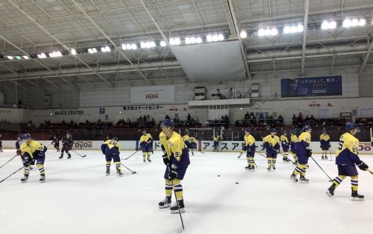 2019年度関東大学アイスホッケーリーグ戦 vs 早稲田