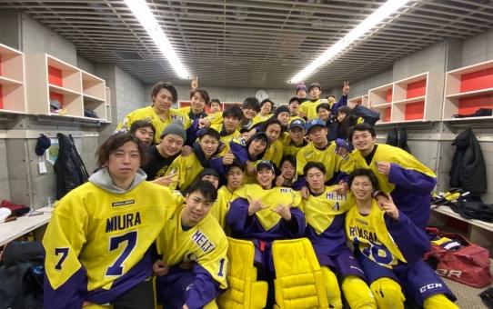 第92回学生氷上競技選手権大会 3位決定戦 vs 中央
